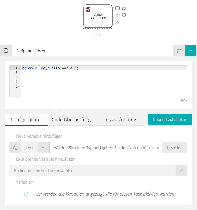 JavaScript-Integration — Signavio Workflow Accelerator 3.51 ...